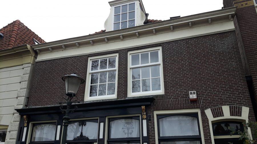 Voorgevel Rijksmonument Herengracht Muiden