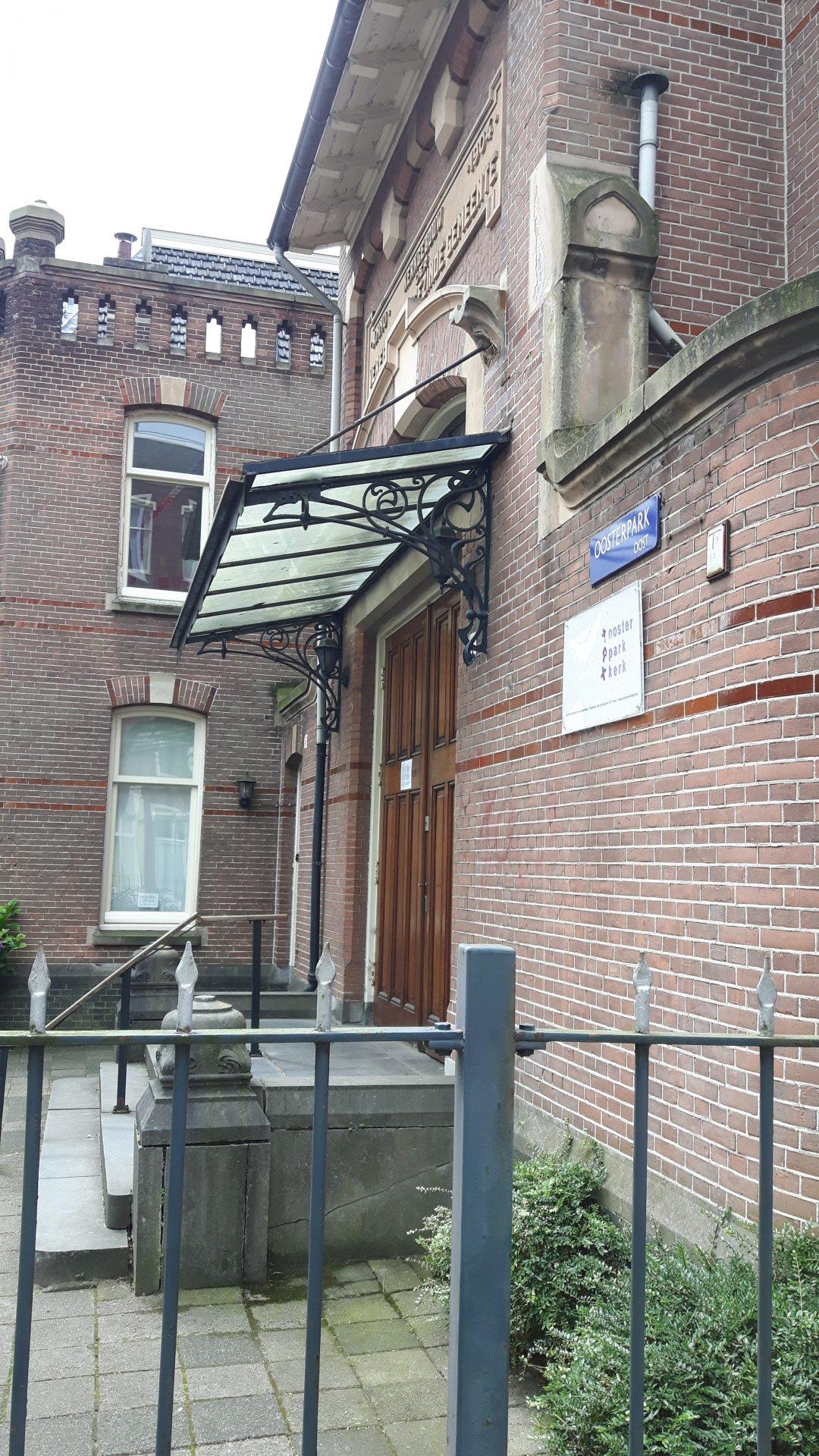 Herinrichting Oosterparkkerk