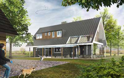 Nieuwbouwwoning buitengebied Brummen