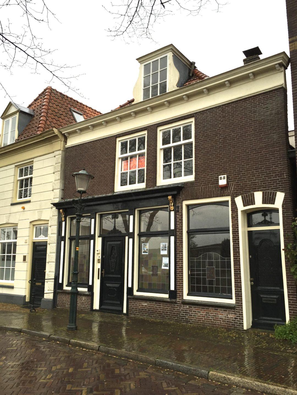 Restauratie rijksmonument Herengracht Muiden